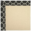 Capel Rugs Creative Concepts Beach Sisal - Arden Black (346) Rectangle 7