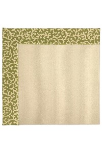 Capel Rugs Creative Concepts Beach Sisal - Coral Cascade Avocado (225) Rectangle 12' x 15' Area Rug
