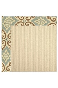 Capel Rugs Creative Concepts Beach Sisal - Shoreham Spray (410) Rectangle 12' x 15' Area Rug
