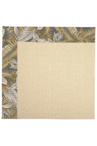 Capel Rugs Creative Concepts Beach Sisal - Bahamian Breeze Ocean (420) Rectangle 12' x 15' Area Rug