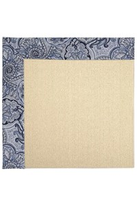 Capel Rugs Creative Concepts Beach Sisal - Paddock Shawl Indigo (475) Rectangle 12' x 15' Area Rug