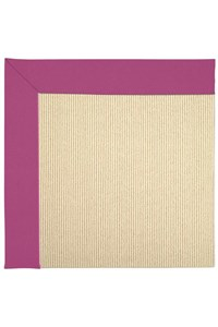 Capel Rugs Creative Concepts Beach Sisal - Canvas Hot Pink (515) Rectangle 12' x 15' Area Rug