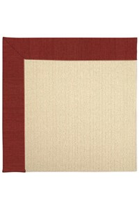 Capel Rugs Creative Concepts Beach Sisal - Canvas Cherry (537) Rectangle 12' x 15' Area Rug