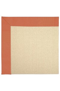 Capel Rugs Creative Concepts Beach Sisal - Canvas Melon (817) Rectangle 12' x 15' Area Rug
