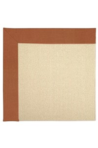 Capel Rugs Creative Concepts Beach Sisal - Canvas Rust (837) Rectangle 12' x 15' Area Rug