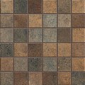 "Mannington Patchwork: Brushed Suede 12"" x 12"" Porcelain Mosaic Tile PW3MMM"