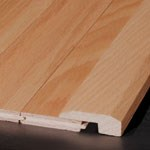 Bruce Hardwood Flooring by Armstrong Natural Choice Maple Strip:  Threshold Cinnamon