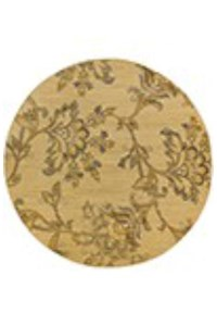 Shaw Living Kathy Ireland Home Essentials Devonshire (Natural) Runner 2'3
