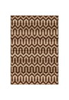 Shaw Living Kathy Ireland Home Gallery Garden Fantasy (Brown) Round 8'4
