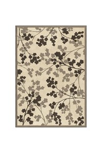 Shaw Living Kathy Ireland Home Essentials Imperial Bouquet (Natural) Runner 2'3