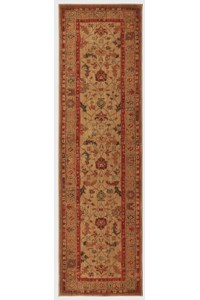 Nourison Collection Library Alexandria (AL01-GLD) Rectangle 5'6