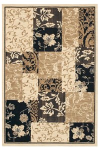 Nourison Collection Library Ashton House (AS24-BLK) Rectangle 5'6