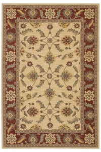 Nourison Collection Library Aspects (AP01-BUR) Rectangle 5'6