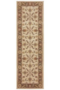 Nourison Collection Library Aspects (AP01-BUR) Rectangle 7'6