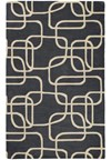 Nourison Collection Library Chambord (CM10-BLK) Runner 2'3