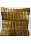 Nourison Calvin Klein Home Woven Textures (WT01-BRN) Rectangle 7'9