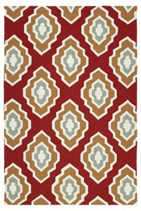 Nourison Signature Collection Heritage Hall (HE15-AQU) Rectangle 12'0
