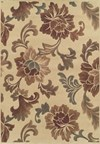 Nourison Liz Claiborne Home Radiant Impressions (LK01-BGE) Rectangle 3'6