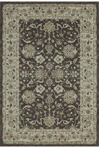 Nourison Collection Library Living Treasures (LI05-BLK) Rectangle 7'6
