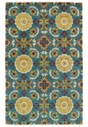 Nourison Collection Library Saffira (SA05-BRN) Rectangle 9'6