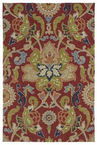 Nourison Collection Library Tropics (TS01-IV) Rectangle 7'6