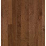 "Bruce American Treasures Hickory: Plymouth Brown 3/4"" x 2 1/4"" Solid Hickory Hardwood C0688"