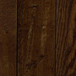 "LW Mountain Pre-Finished Hand-Scraped Oak:  Ebony 3/4"" x 5"" Solid Hardwood LWSHE53"