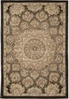 Capel Rugs Creative Concepts Cane Wicker - Dream Weaver Marsh (211) Octagon 10' x 10' Area Rug