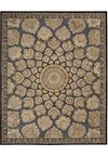 Capel Rugs Creative Concepts Cane Wicker - Bahamian Breeze Coal (325) Octagon 10' x 10' Area Rug