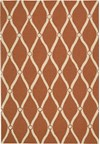Capel Rugs Creative Concepts Cane Wicker - Bahamian Breeze Coal (325) Rectangle 4' x 4' Area Rug