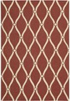 Capel Rugs Creative Concepts Cane Wicker - Down The Lane Ebony (370) Rectangle 4' x 4' Area Rug
