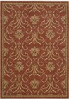 Capel Rugs Creative Concepts Cane Wicker - Bamboo Cinnamon (856) Rectangle 4' x 4' Area Rug