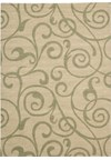 Capel Rugs Creative Concepts Cane Wicker - Couture King Chestnut (756) Rectangle 5' x 8' Area Rug
