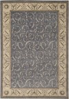 Capel Rugs Creative Concepts Cane Wicker - Canvas Citron (213) Rectangle 10' x 14' Area Rug