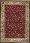 Capel Rugs Creative Concepts Cane Wicker - Coral Cascade Ebony (385) Rectangle 10' x 14' Area Rug