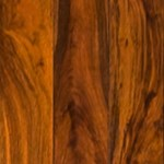"Signature Pre-Finished Exotic Walnut:  Golden 3/4"" x 3 1/2"" Solid Hardwood"