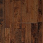 "CFS Hart Collection: Burled Maple 3/4"" x 7 7/8"" Solid Maple Hardwood HCHS-500-02"