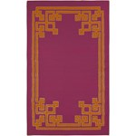 "Surya Beth Lacefield Alameda Raspberry (AMD-1014) Rectangle 5'0"" x 8'0"""
