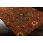 "Surya Anastacia Burnt Sienna (ANA-8411) Rectangle 2'0"" x 3'0"""