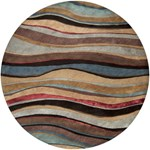"Surya Artist Studio Coffee Bean (ART-229) Round 8'0"" x 8'0"""