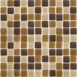 "Emser Lucente Glass Blends Mosaic 12.5"" x 12.5"" : Mountain Mosaic Blend"