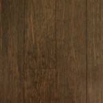 "ECOfusion Strandwoven Color Fusion Bamboo: True Walnut 9/16"" x 5"" Engineered Bamboo CFBETW120"