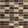 "Daltile Coastal Keystone Straight-Joint Mosaic 12"" x 12"" : Treasure Island Blend CK90 21PM1P"