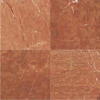 "Daltile Marble: Rojo Alicante Polished 12"" x 12"" Natural Stone Tile M724-12121L"