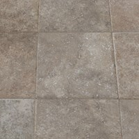Faus Floor Masterpieces Collection: Brindled Tile 10mm Laminate With Attached Pad FL-842736