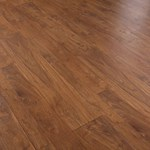 Faus Floor Cosmopolitan Collection: Walnut Amaretto 10mm Laminate With Attached Pad 786530