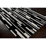 "Surya Candice Olson Modern Classics Jet Black (CAN-1998) Rectangle 2'0"" x 3'0"""