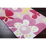 "Surya Chic Baby Pink (CHI-1007) Rectangle 2'0"" x 3'0"""