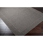 "Surya Elements Charcoal Gray (ELT-1008) Rectangle 7'10"" x 11'1"""