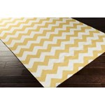 "Surya Frontier Golden Yellow (FT-291) Square 0'6"" x 0'6"""